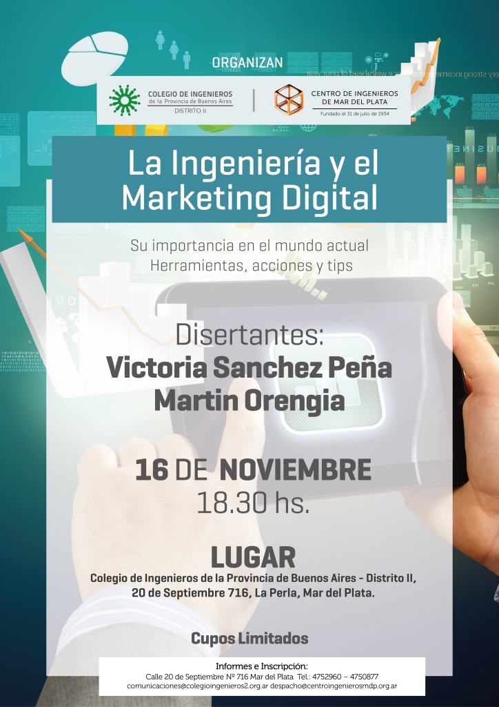 La Ingeniería y el Marketing Digital 16 11 2017